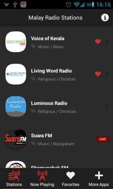 Malay Radio Stations screenshot1